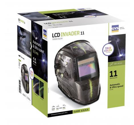 MASQUE LCD INCADER 11 TRUE COLOR