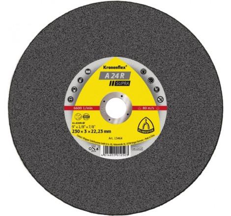 DISQUE A TRONC 125X2.5 PLAT